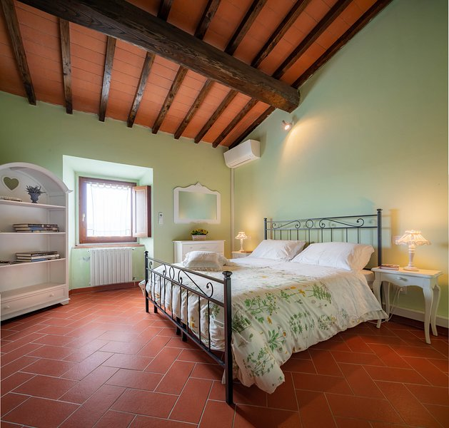 Panoramic Historical house with air conditioning, holiday rental in Trespiano