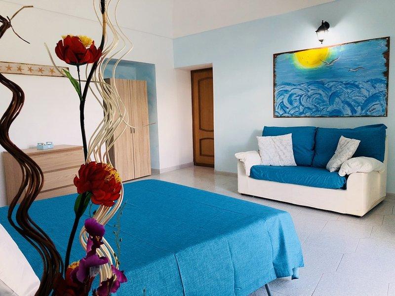 Gabbiano Felice con Terrazza panoramica privata, location de vacances à Île de Ponza