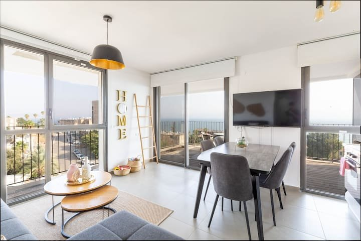 Lakeview Oasis -magical 2 bedroom suite⭐⭐⭐⭐⭐, aluguéis de temporada em Menahemya