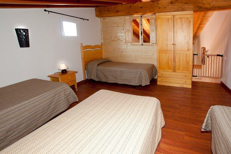 Dormitorio (planta superior)