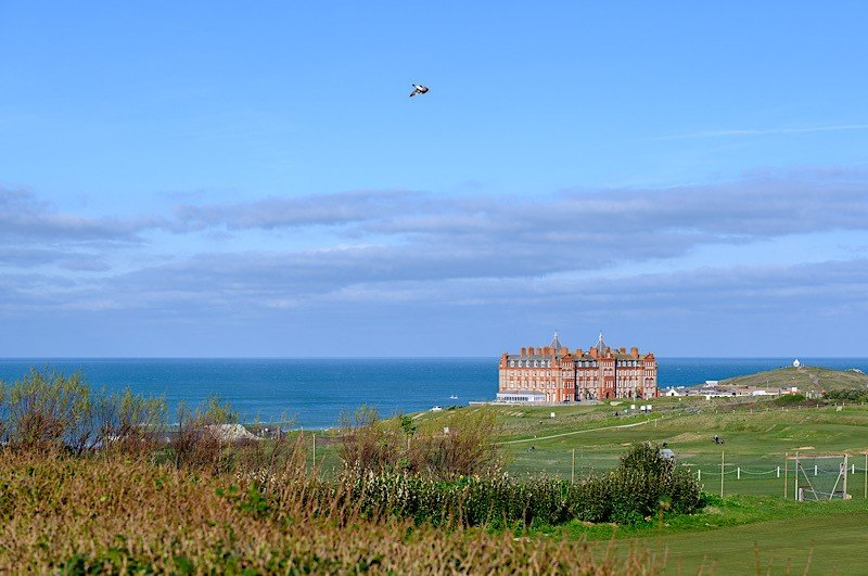Newquay Golf Course 2 minutes from Bredon Court