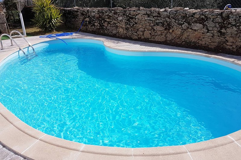 Amazing mansion with swimming-pool, holiday rental in Urros