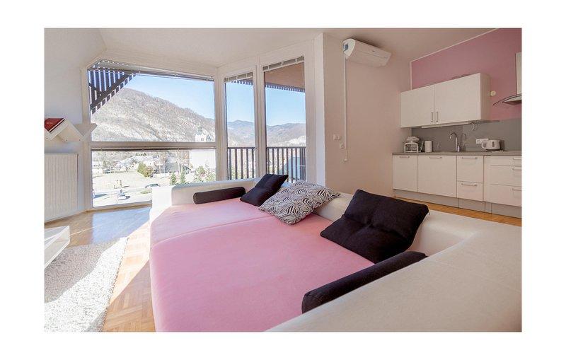 Nice home in Bohinjska Bistrica with WiFi and 1 Bedrooms (SGR138), location de vacances à Cerkno