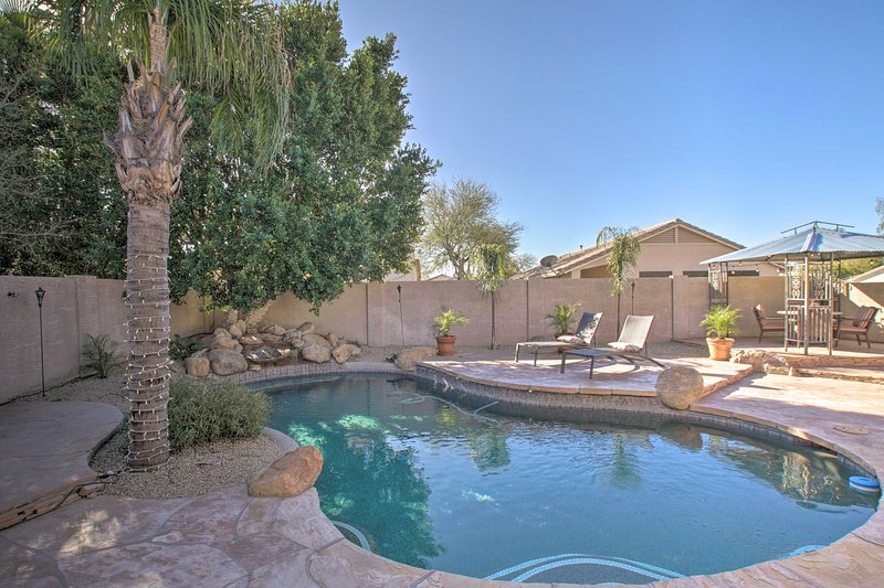 PHX Gem w/ Game Room & Private Pool: Pets Welcome!, vacation rental in Anthem