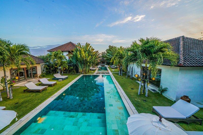 Villa Complex - Abaca Villas, location de vacances à Kerobokan