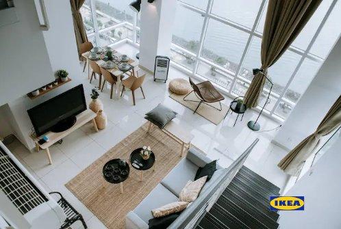PY| Maritime Coastline 180° Seaview | 海岸线180°海景套房, holiday rental in George Town