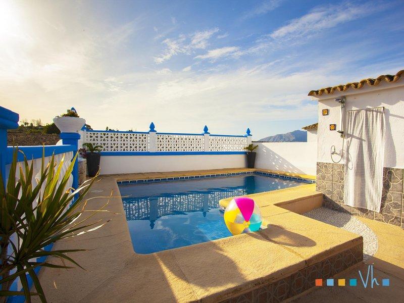 BONAIRE - villa con piscina privada para 8 personas, Ferienwohnung in Canor