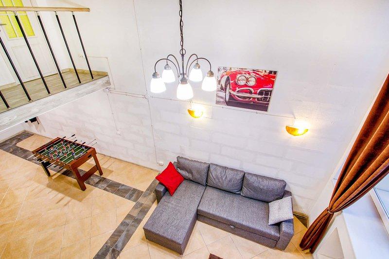 Duplex apartment on Polarnaya, vacation rental in Pushkinsky District