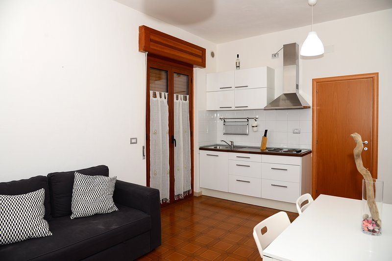 Amazing apartment with garden, holiday rental in Marconia