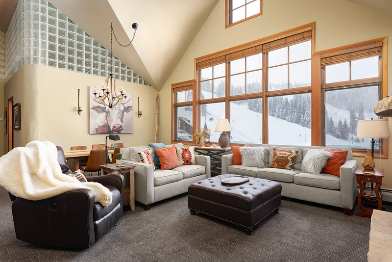 Welcome home to Zephyr Mountain Lodge 2703 - a rare three bedroom penthouse with sweeping resort area views