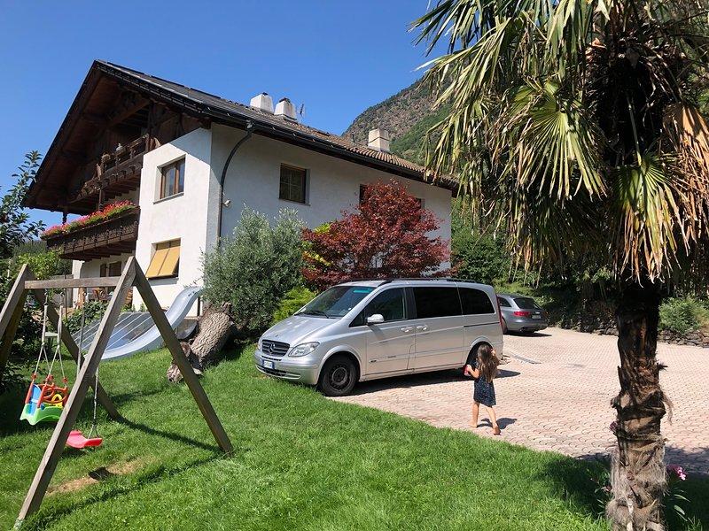 Urlaub auf dem Bauernhof, Ferienwohnung in Ultimo (Ulten)