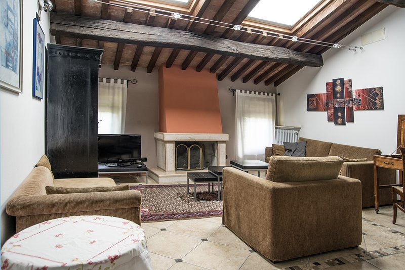 Cementificio, holiday rental in San Pancrazio