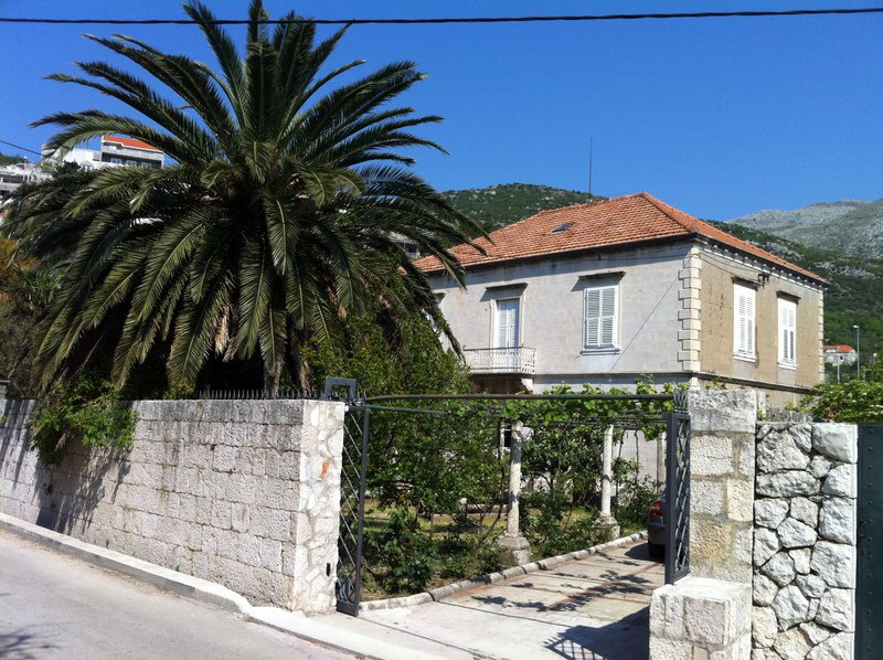 Seafront Castle Palm close to Dubrovnik, holiday rental in Mokosica