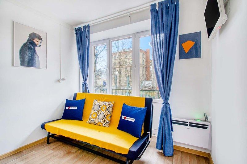 Apartments near metro Tekstilschiki №2, alquiler vacacional en Zheleznodorozhny
