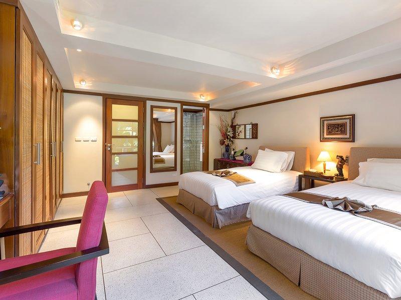 Villa Kamia - Disposizione delle camere a due letti