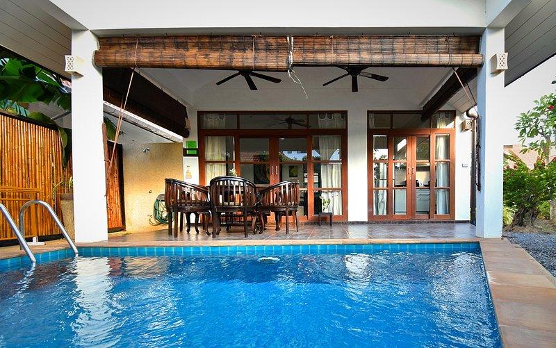 Villa e piscina