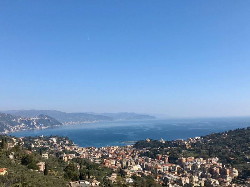 collina sul mare, casa vacanza a Santa Margherita Ligure