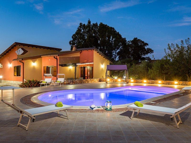 Case Boscia Villa Sleeps 6 with Pool Air Con and WiFi - 5639275, location de vacances à Case Di Girolamo
