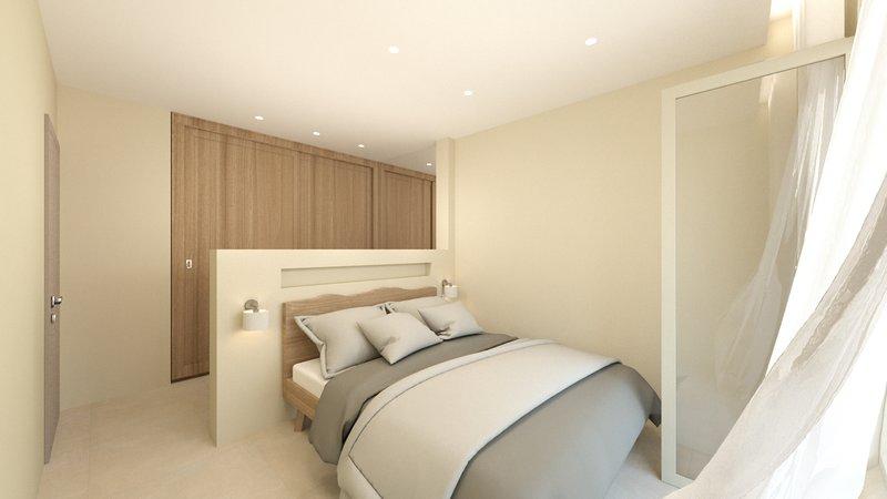 Senior Suite C2: One Bedroom Sea View- Kallia Suites Chorefto, vacation rental in Chorefto
