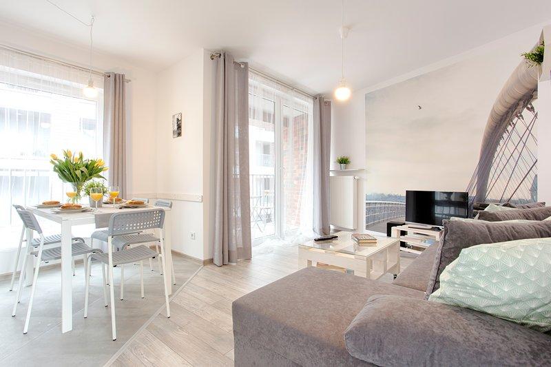 Design apartment for 5 by Tyzenhauz, location de vacances à Cracovie