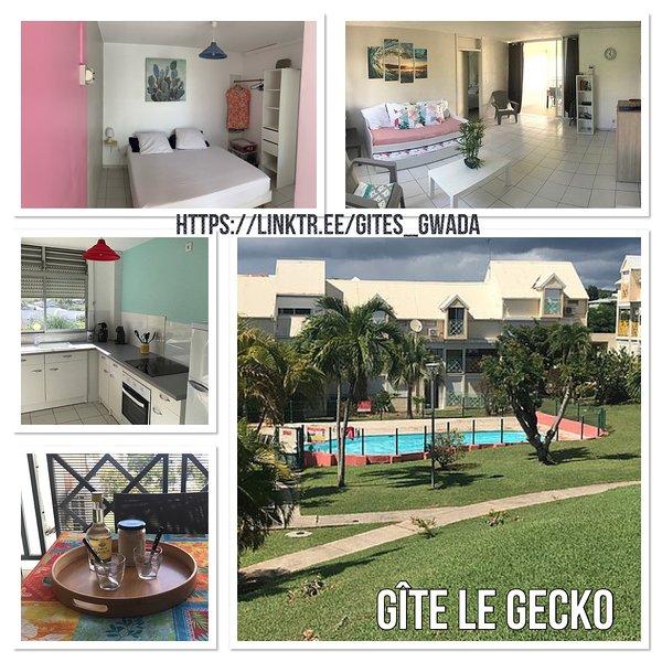 Gîte Le Gecko - Le Gosier, holiday rental in Le Gosier