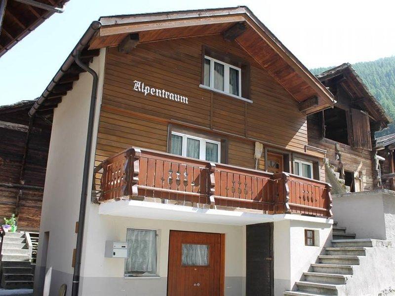 Alpentraum, holiday rental in Saas-Grund