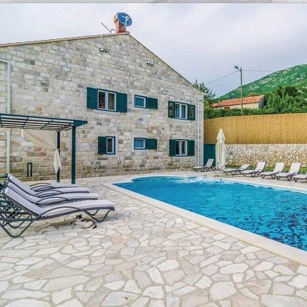Amazing villa with swimming-pool, location de vacances à Dubravka