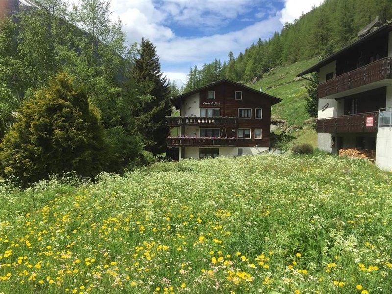 Cresta di Saas, holiday rental in Saas-Grund