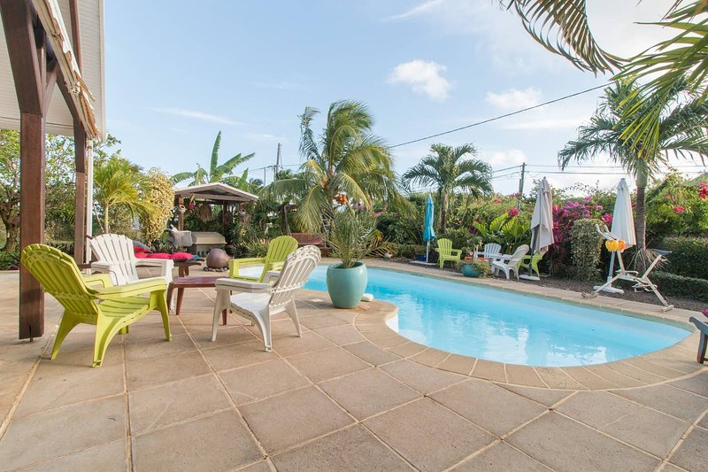 Amazing villa with swimming-pool, holiday rental in Le Marin
