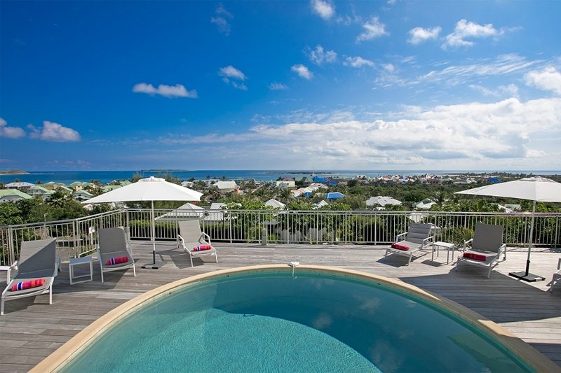 Villa Ocean View | Ocean View - Located in Stunning Orient Bay with Private Po, holiday rental in Orient Bay