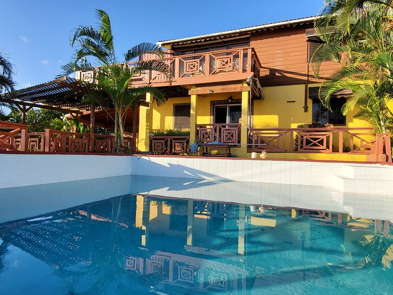 Quaint Villa in the South, PITONS (Heritage of the world) view., holiday rental in Choiseul