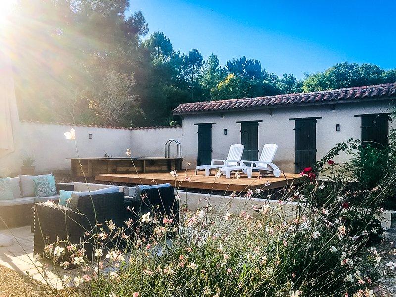 Le Petit Le Fouillu, holiday rental in Aubeterre-sur-Dronne