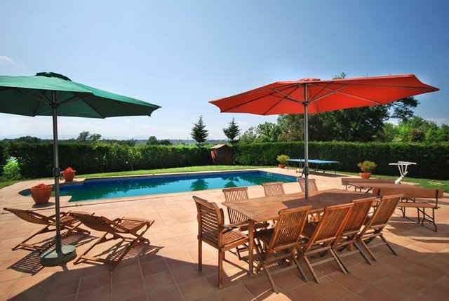 Quart d'Onyar Villa Sleeps 12 with Pool Air Con and Free WiFi - 5509110, holiday rental in Vilobi d'Onyar