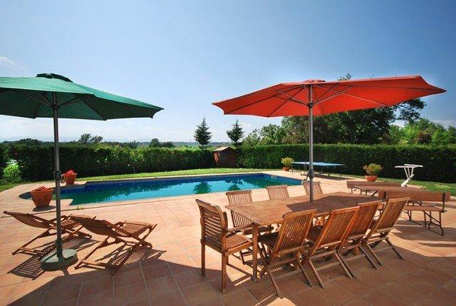 Quart d'Onyar Villa Sleeps 12 with Pool Air Con and Free WiFi - 5509110, holiday rental in Cassa de la Selva