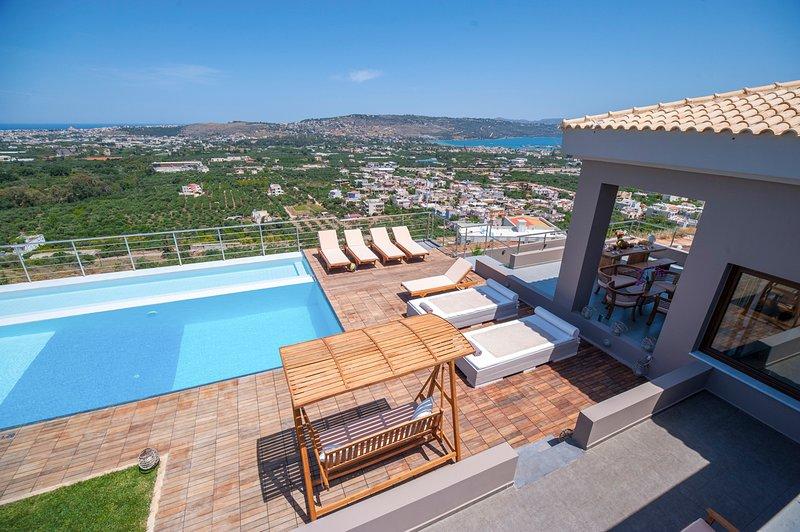 Frantzeskiana Metochia Villa Sleeps 8 with Pool and Air Con - 5794440, location de vacances à Malaxa