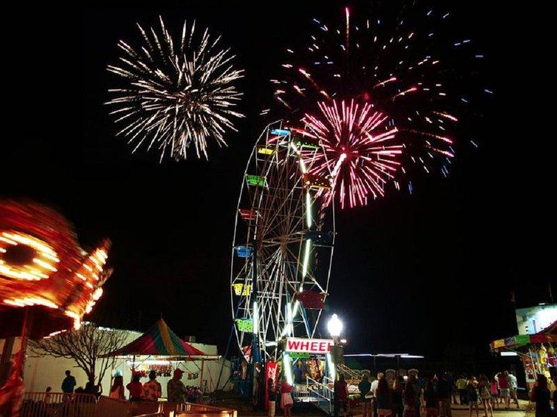 Carolina Beach Amusement Park, Live Band and Fireworks every week in prime season.