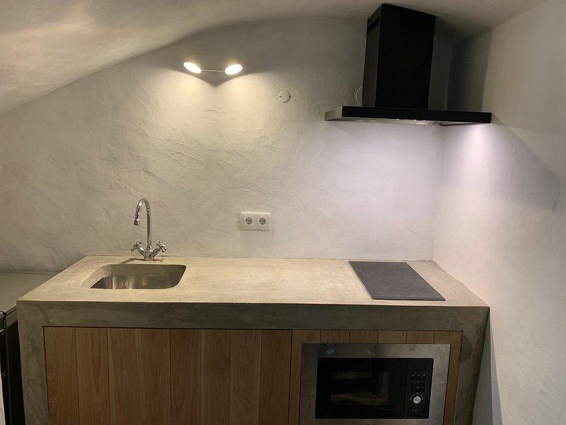 kleine Küche im Erdgeschoss Wohnzimmer