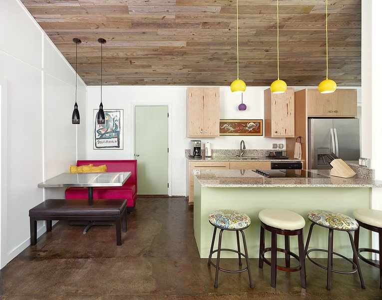 *Conceptual Photo* Open Kitchen and Eating Area