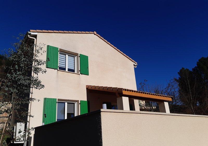 La Maison des Oréades - Gîte/piscine 8 personnes en Ardèche (Vals les Bains), holiday rental in Ucel