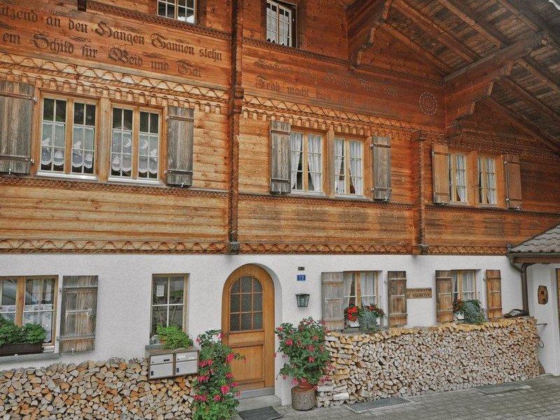 Chalet Bodenweg, vacation rental in Achsete