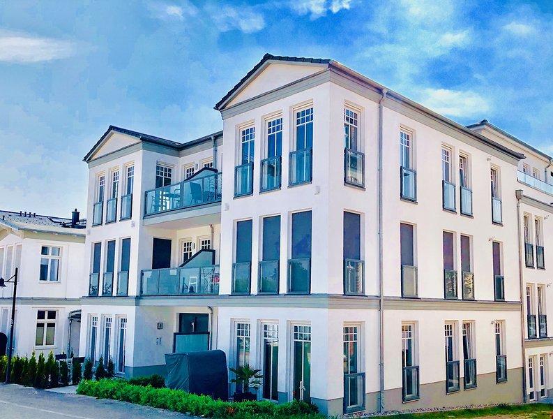 Quartier Schneespecht Westendpalais, holiday rental in Seebad Ahlbeck