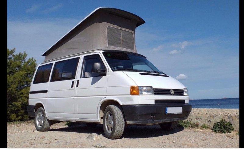 VW T4 Bulli , Bus Vermietung Teneriffa Kanarische Inseln