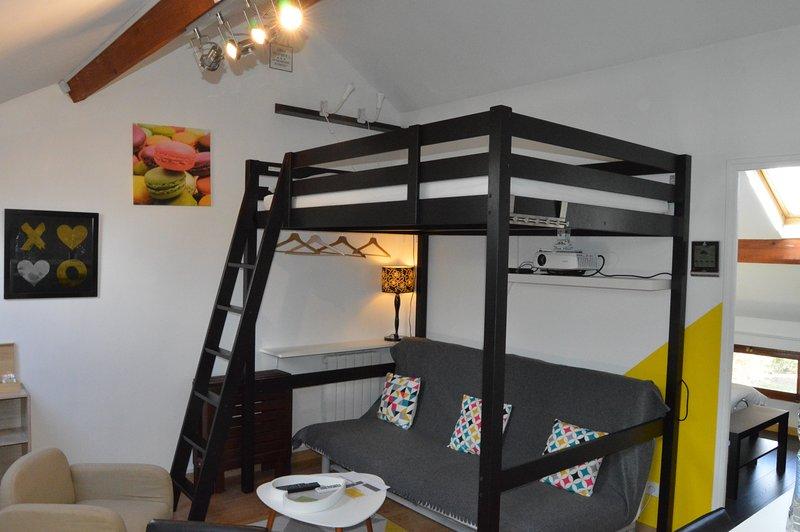 Moyen Gîte - So Cocoon Appartement classé 2* - ESCALE IDÉALE ®, location de vacances à Joué lès Tours