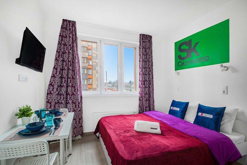 Cozy studio in Skolkovsky | 4A, holiday rental in Dmitrovskoye