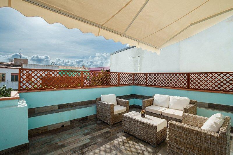 Alle Pavoncelle - ampia casa vacanze con terrazzo, vacation rental in Portoscuso