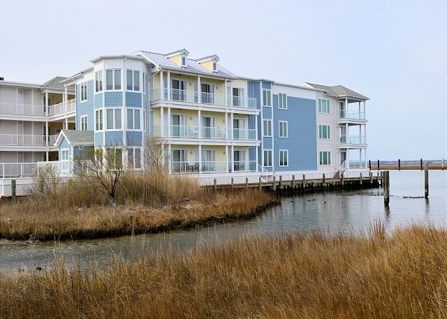A Seagull's Perch - 3rd Floor Water Front Condo - In Town, vacation rental in Chincoteague Island