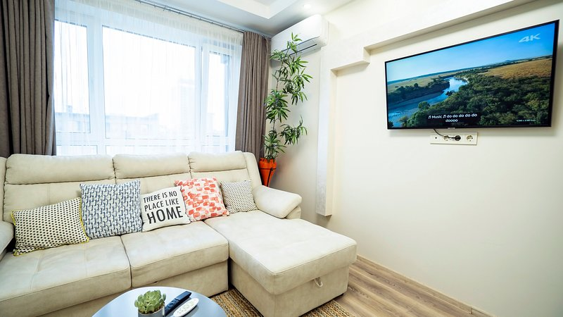 Eco studio, new building, Kiev central area, holiday rental in Kyiv (Kiev)