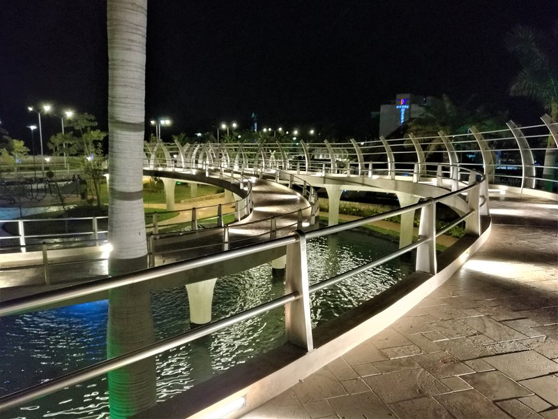 Campeche Moch Park Couoh night (7 km from rooms)