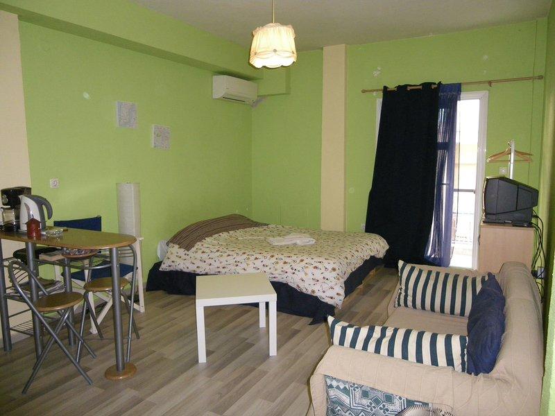 Homy cozy studio towards the center, vacation rental in Oraiokastro