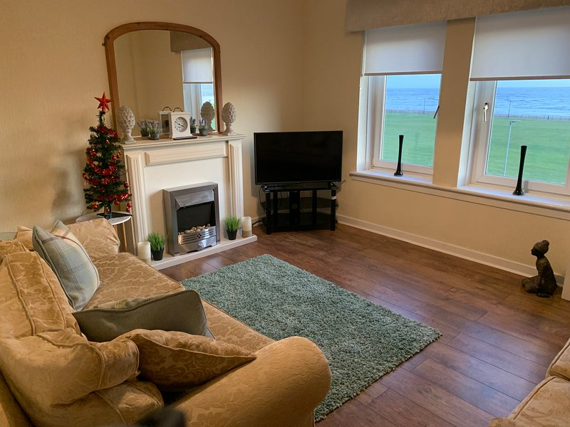 Cosy Sea front Apartment, location de vacances à West Kilbride